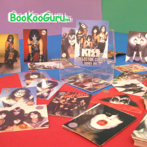 KISS Collector Cards - Silver Foil - Series one - Peter Criss - Paul Stanley
