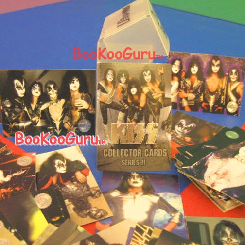 KISS Collector Cards - Series Two - Eric Carr - Vinnie Vincent