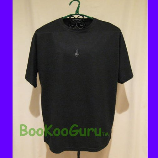 Saddle Collection Brand Black T-shirt, Only $2! Very Unique Embroidery Design, Stylish, BooKooGuru