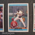 Donruss, 1992, Baseball Cards, Scott Kamieniecki, Jose Lind, Bill Spiers, Set of Three, Near Mint