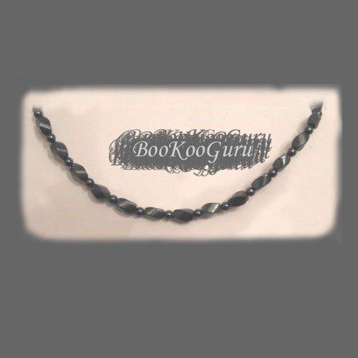 Magnetic Hematite Bracelet, Ladies Style, Genuine Gemstones, Healing