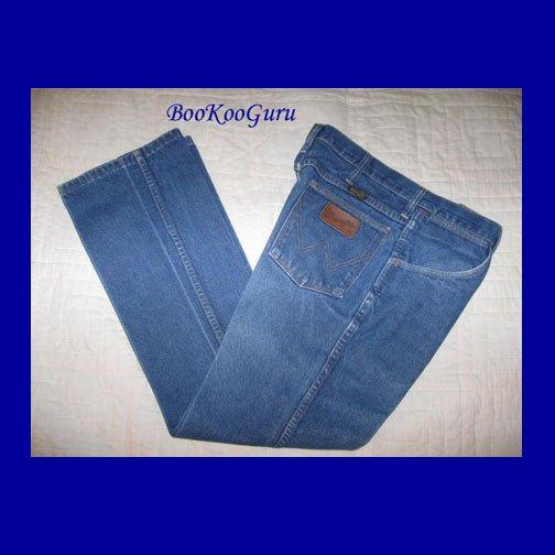 Vintage Wrangler Jeans, Blue denim, Size 33x30, Style 935NAY W414