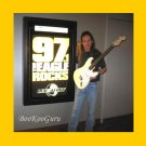 Ozzy Osbourne Autographed Guitar, Prize in Radio Contest, New, Very Nice !
