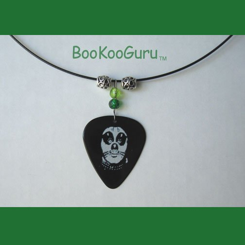 KISS Peter Criss Guitar Pick Necklace, Original Design, Texas Artisan Crafted