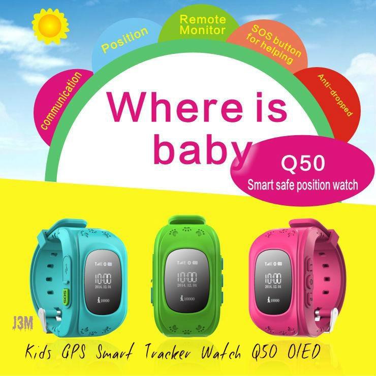 Kids GPS Tracker Smart Watch