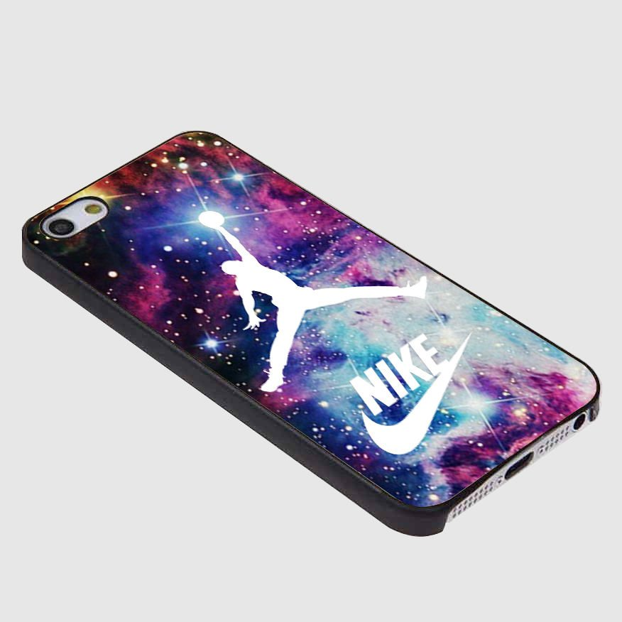 Jordan Nebula Galaxy Nike HRI for iPhone 4/4S,5,5C,5S & Samsung S3/S4/S5 Case