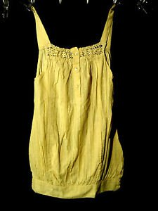 New VARSHA Beach Cover up Dress Girls 6,8,10 Bumble Bee Yellow tunic top Beachy