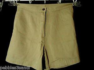 WOOLRICH Shorts womens size 8 Khaki Brown bermuda walking Hiking outdoor Sport