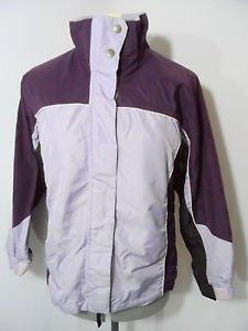 CHEROKEE Ski Jacket Parka Shell girls M 7/8 Purple NO LINER wear for windbreaker
