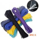 Paracord 550 Paracord Parachute Cord Lanyard Rope Mil Spec Type III 7Strand 100FT Climbing