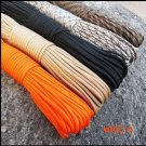Free Shipping 100 FT Paracord 550 Paracord Parachute Cord Lanyard Rope Military Spec for o