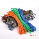 New 550 Paracord Parachute Cord Lanyard Rope 25ft Mil Spec Type III 7 Strand Core  outdoor