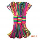NEW Rainbow 550 Paracord Parachute Cord 31m Lanyard Rope Mil Spec Type III 7Strand 102FT C