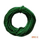 15m/50ft Reflective Guyline Canopy Tent Rope Guy Line Camp Cord Fluorescent Line For Campi