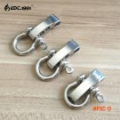 10 PCS O Shape Stainless Steel Adjustable Anchor Shackle Outdoor Camping Emergency Rope Su