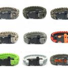 Whistle Outdoor Survival EDC Gear Emergency Bracelet For Camping Climbing Hiking Product U