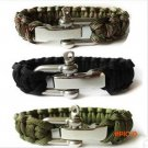 Camping Survival EDC Gear Outdoor Product Umbrella Rope Bracelet Edc Adjustable Steel Buck
