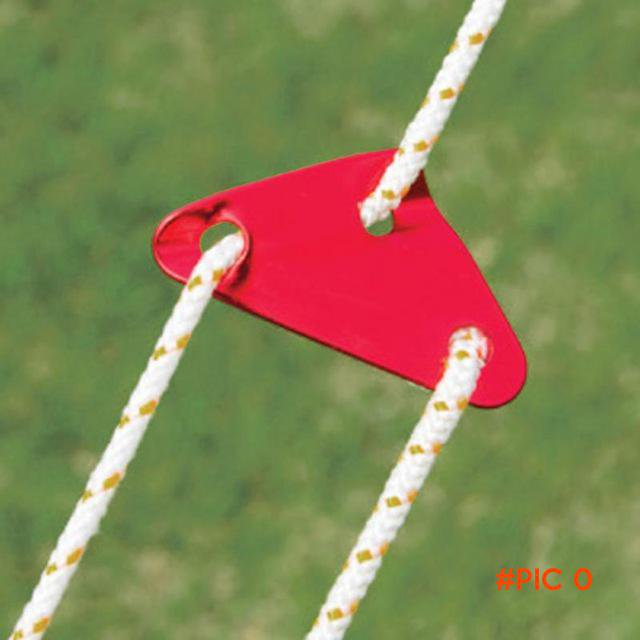 1PC Aluminum Tent Rope Buckle Ourdoor Camping Umbrella Tent Buckle Pull Rope Wind Rope Buc