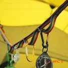 Newest Colorful Tent Hang Lanyard Tent Rope Cord Universal Rope for Outdoor Camping Hiking