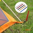 6PCS 18cm Peg Floor Nail Aluminium Alloy Tri Tent Stake Rope Outdoor Camping Equipment Too