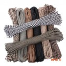 Survival Paracord 550 100ft  Parachute Cord Lanyard Rope Paracord Rope for Hiking Camping BC1653