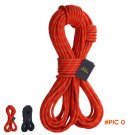 Camping Accessory 10M Rock Climbing Rope 10mm Diameter 24KN High Strength Lanyard Safety C
