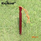 10Pcs/lot Aluminium Alloy Stake Nail build Tack With Rope 18cm 700I Camping Equipment Outd