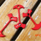 Free shipping 4 pcs/lot Outdoor Camping Tent Peg Path Deck Camp Wind Rope Anchor Chains Li