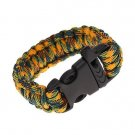 Super sell forcord forchute Cord Emergency Kit Survival Bracelet Rope with Whistle Buckle
