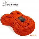 6mm diameter Professional Static Ropes 7KN 1meter  Dupont Cord Outdoor Climbing Rope Campi