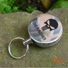 EDC tool Outdoor camping equipment High Resilience Retractable Rope Key Chain Anti-lost Al