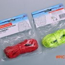 4pcs/pack Camping Reflective Tent Rope Guy Ropes Cloth line With Rope Adjuster (4 Meters)