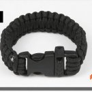 10pcs/lot New Outdoor Camping Paracord Parachute Cord Emergency Survival Bracelet Rope wit