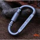 Alloy D-shaped Camping Rope Anchor Shackle Bottles Hook Hanging Buckle 50pcs/lot BC2093