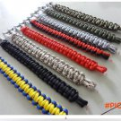 outdoor survival bracelet U buckle climbing quick release rescue emergency escape bracelet
