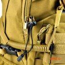 Multifunctional Anti-lost elastic rope lanyard tactical military fans outdoor camping elas
