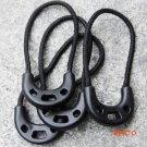 5pcs Convenient Durable Anti-Theft Bag Clothes Backpack Zipper Rope Anti-Slip Lock Bag EDC