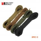 Airsoft Paintball Nylon Paracord Sling Outdoor Sport Lanyard Rope Parachute Cord 15M Long