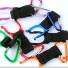 5# 2016 New Outdoor Camping Aluminum Carabiner Water Bottle Holder Colorful Hiking Rope Bu