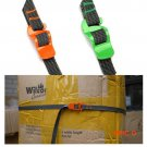 Outdoor Sports Travel bandTied Rope 2m Luggage Belt with Stainless Steel Hook binding tape