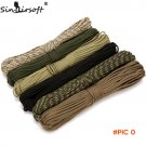 Sinairsoft Paracord 550 Paracord Parachute Cord Lanyard Rope Mil Spec Type 31 Meters 100FT
