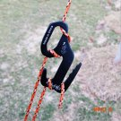 Outdoor 9 Shape Design Aluminum Alloy Tent Buckle Tightener Camping Tent Cord Tent Rope St