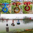 Rope hanger Buckles Tent Pegs Camping Wind Ropes Engaging Pocket tools indispensable Rando