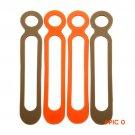 EDC Tool Leggings Rope Binding Belt Food Grade Silicone High Elasticity Outdoor Camping Eq