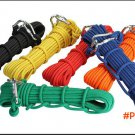 Outdoor 10mm Parachute Cord Paracord Steel Core Strand Rappelling Rope Climbing Lanyard Cl