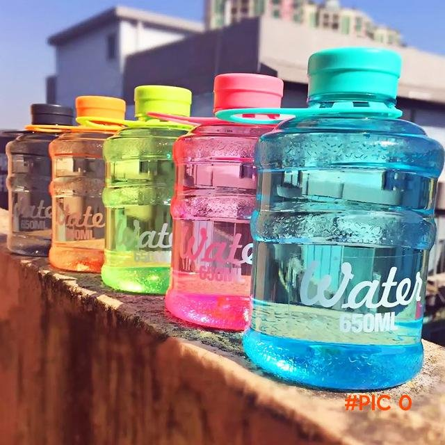 2016 New Mini barreled sealing bottles with creative students water bottle 650ml for trave