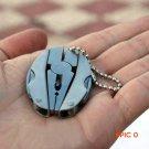 Portable Multifunction Folding Plier,Stainless Steel Foldaway Knife Keychain Screwdriver,C