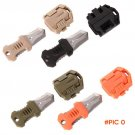Molle EDC Gear Mini Beetle Multifunction Stainless Steel Knife Outdoor Camping Survival Po