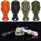 EDC Gear mini pocket tool portable keychain knife for zipper backpack key chain camp outdo