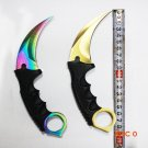 cool handmade hunting knife, never fades Karambit cs counter strike struggle survival tact
